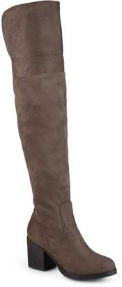 Journee Collection Sana Women's Over-The-Knee Boots $99.99 thestylecure.com