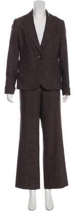Lafayette 148 Wool Pant Suit Set
