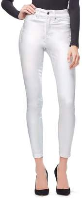 Good American Good Legs Waxed - Silver001