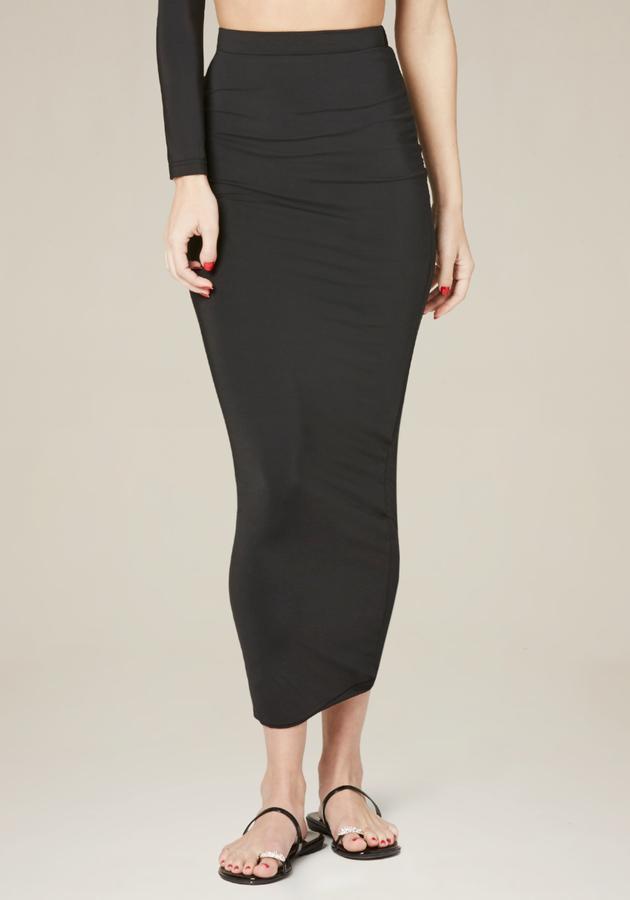 Black Silhouette Skirt