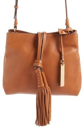 Vince Camuto 'Taro' Crossbody Bag - Brown $238 thestylecure.com
