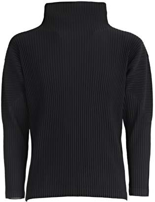 Pleats Please Issey Miyake Turtleneck Sweater