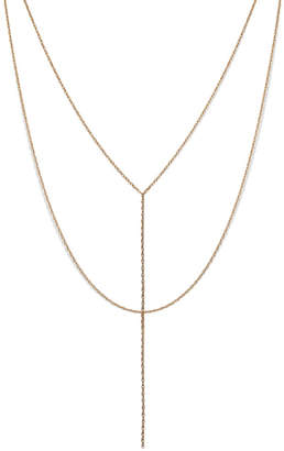 Electric Picks Uptown Necklace - Gold