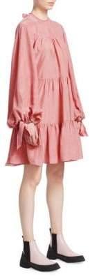 3.1 Phillip Lim Oversized Tiered Gathered Dress