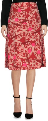 Manila Grace Knee length skirts - Item 35375701FI
