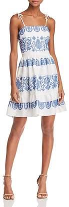 Milly Mini Mila Embroidered Dress