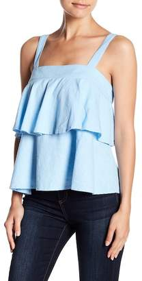 Blend of America Abound Tiered Linen Tank