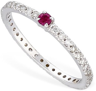 Vanzi Annagreta Diamond & Ruby Ring
