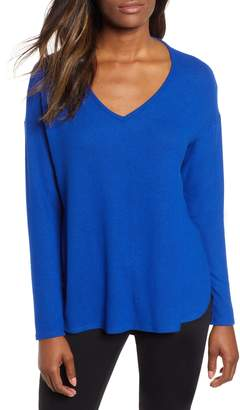 Gibson Cozy V-Neck Top