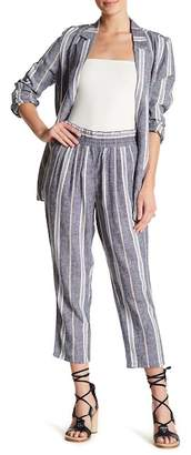 Abound Striped High Rise Cropped Pants
