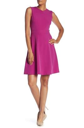 Tahari A-Line Sleeveless Dress