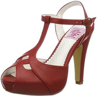 Couture Pinup Pin Up Women's Bett23/Rpu Platform Sandal