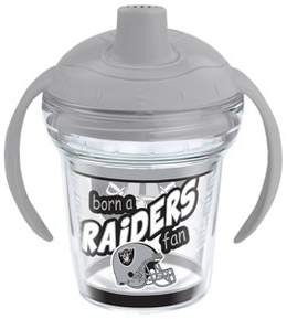 Tervis NFL Oakland Raiders Born A Fan 6oz Sippy Cup with Lid
