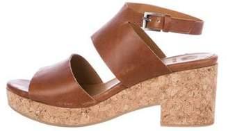 Coclico Platform Leather Sandals