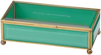 Kate Spade Out of the Box Jewelry Box - Turquoise