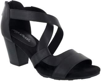 Easy Street Shoes Block Heel Sandals - Amuse