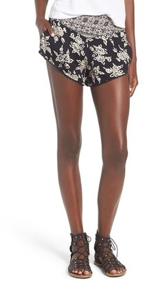 Women's Volcom 'On The Brink' Print Shorts $39.50 thestylecure.com