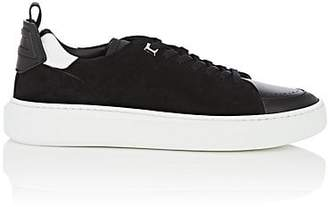 Buscemi Men's Uno Sport Suede & Leather Sneakers - Black