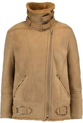 IRO Buckled Shearling Jacket