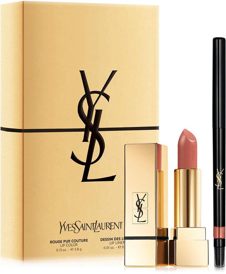 Yves Saint Laurent 2-Pc. Nude Lip Set