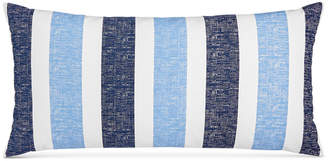 """Charter Club Texture Stripe 12"""" x 24"""" Decorative Pillow, Created for Macy's"""