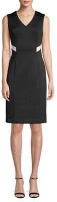 Calvin Klein Classic Sleeveless Sheath Dress