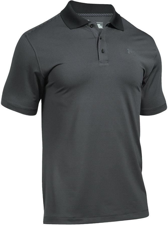 Under Armour Men's Striped Golf Polo Shirt