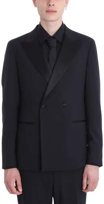 Ermenegildo Zegna Black Wool Smoking Suits