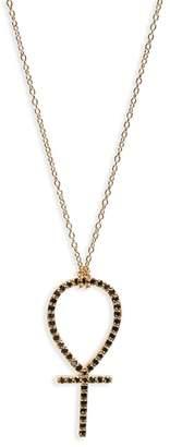 Black Diamond ICONERY x Rashida Jones Ankh Pendant Necklace