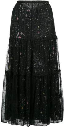Moschino tulle star skirt