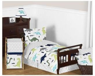 JoJo Designs Sweet Blue & Green Mod Dinosaur Bedding Set (Toddler) - Sweet
