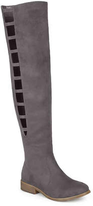 Journee Collection Pitch Thigh High Boot - Women's