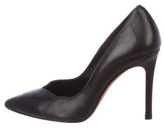 IRO Pointed-Toe Leather Pumps