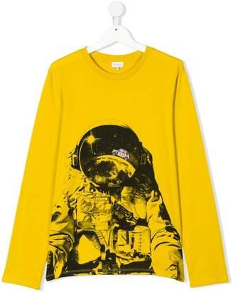 Paul Smith TEEN printed long sleeve T-shirt