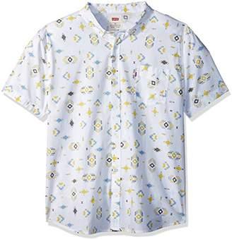 Levi's Men's Rucc Short Sleeve Woven Shirt