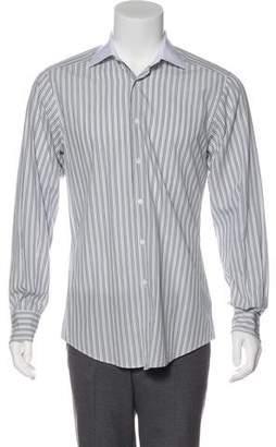 Gucci Striped Woven Shirt