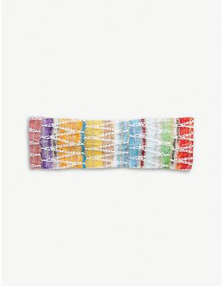 Missoni Zigzag knitted headband