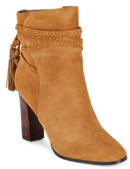 Suede Ankle Boots $180 thestylecure.com