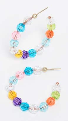 Susan Alexandra Lil Merry Hoop Earrings