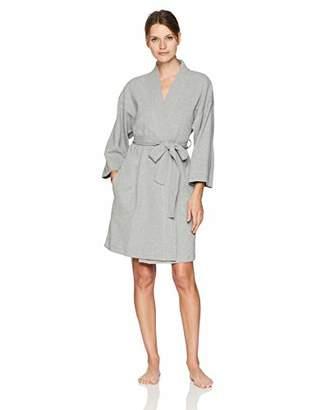 Arabella Women's Knit Waffle Wrap Robe