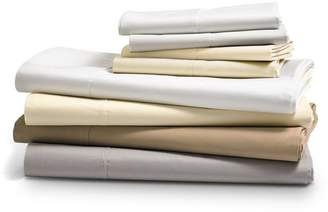 Hudson Park Collection 470TC Percale Solid Sheet Set, Full - 100% Exclusive