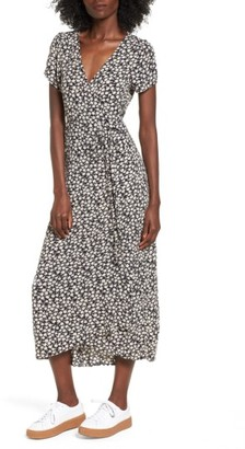 Women's Billabong Wrap Me Up Midi Wrap Dress $64.95 thestylecure.com