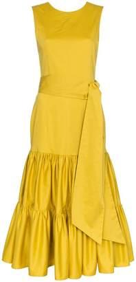 Cult Gaia Maeve sleeveless tiered dress