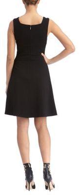 Rachel Roy Ponte Flared Dress
