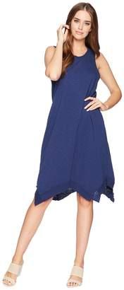 Dylan by True Grit Luxe Cotton Slub Hanky Hem Dress Women's Dress