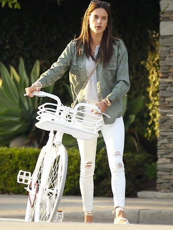 Black Orchid High Rise Jegging in Never Say Never as seen on Alessandra Ambrosio, Kourtney Kardashian and Khloe Kardashian