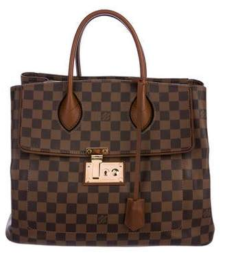 Louis Vuitton Damier Ebene Ascot Bag