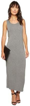 Kensie Subtle Slub Tees Dress with Open Back KS6K7978 Women's Dress