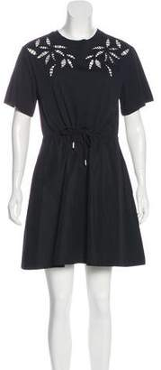 See by Chloe Short Sleeve Mini Dress