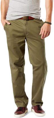Dockers Classic Fit Washed Khaki Pants D3